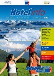 Catalogo alloggi 2012-2013 (PDF 3,5 MB - Bruneck/Brunico