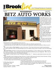BETZ AUTO WORKS - South Pittsburgh Development Corporation
