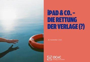 iPad & Co. – die Rettung der Verlage - VDZ