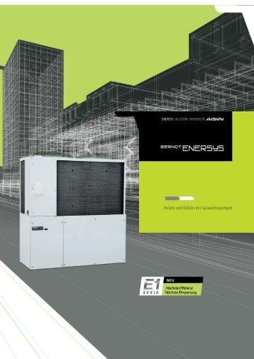 Heizen und Kühlen mit Gaswärmepumpen - Berndt-Enersys