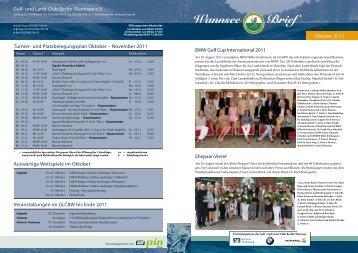 Wannsee Brief Oktober 2011 - Der Golf- und Land-Club Berlin ...