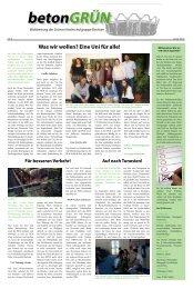 Was wir wollen? Eine Uni für alle! - Grüne Hochschulgruppe Bochum