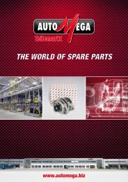 THE WORLD OF SPARE PARTS - AutoMega Teilemarkt