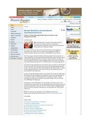 Kompletter Artikel im PDF-Format - Bonner Spendenparlament