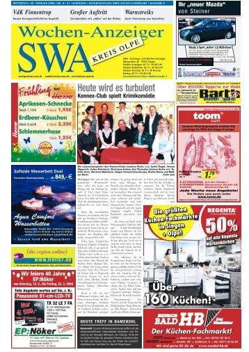 Ausgabe E, Olpe, (11.07 MB) - Siegerländer Wochen-Anzeiger