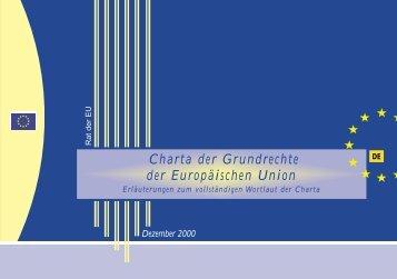 Charta der Grundrechte der Europäischen Union - Kopernikus ...