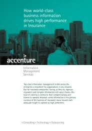 How world-class business information drives high performance in ...