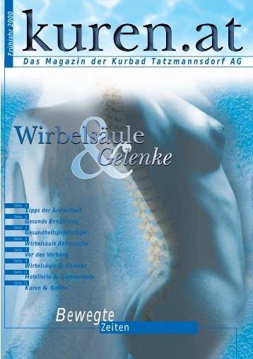 Das Magazin der Kurbad Tatzmannsdorf AG