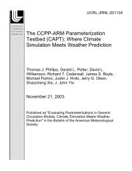 Where Climate Simulation Meets Weather Prediction