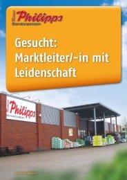 Gesucht: Marktleiter/-in mit Leidenschaft - Thomas Philipps