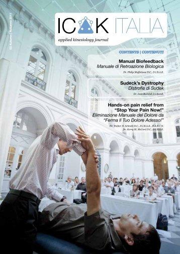 download - ICAK Italia - Kinesiologia Applicata
