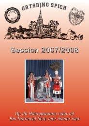 prinzenlied der session 2007 - 2008 - Spicher Karneval