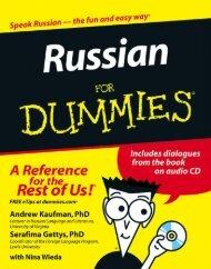 Russian For Dummies By HannahMontana