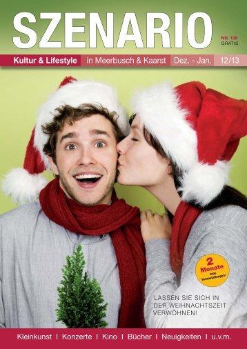 Kultur & Lifestyle in Meerbusch & Kaarst Dez. - Jan. 12/13 - SZENARIO
