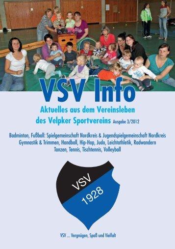 VSV Splitter und Kurznachrichten - Velpker Sportverein 1928 e.V.
