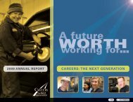 A future - Careers: The Next Generation