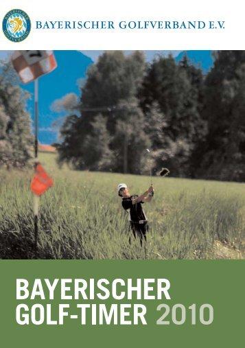 Golf_Timer_für Homepage.qxp - Bayerischer Golfverband