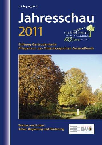 Stiftung Gertrudenheim Pflegeheim des Oldenburgischen ...