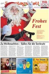 Zu Weihnachten - Süßes für die Seeleute - E-Paper - Emder Zeitung