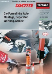 Loctite Teroson Automotive - Webshop - GaFa Tec Handels GmbH