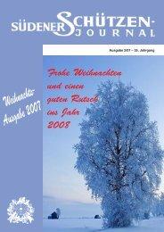 Ausgabe 2007 Frohe Weihnachten und einen guten Rutsch ... - Tage