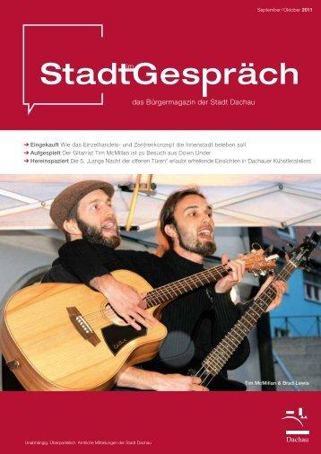 Nicht nur Kreuzberger Nächte sind lang - Stadt Dachau
