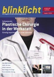 Plastische Chirurgie in der Werkstatt - atr.de