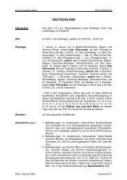 Fahrverbote Deutschland - Truckerworld.eu