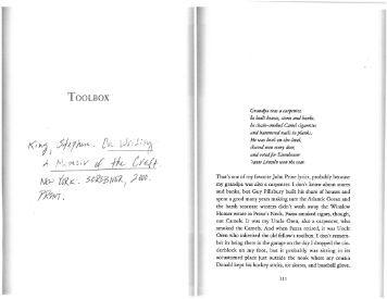Stephen king on writing pdf