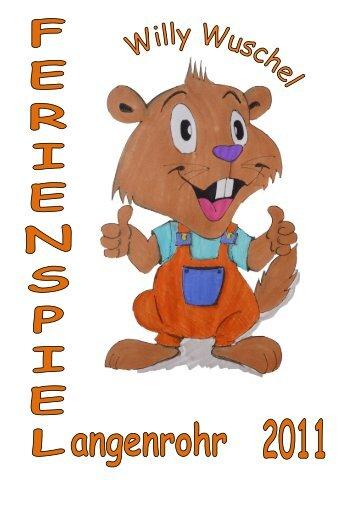 Spielepass 2011 - Marktgemeinde Langenrohr