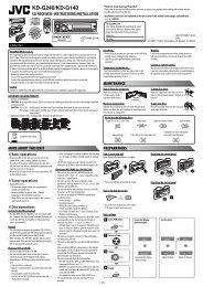 KD-G240/KD-G140 - JVC