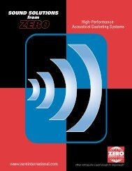 sound trap - Zero International