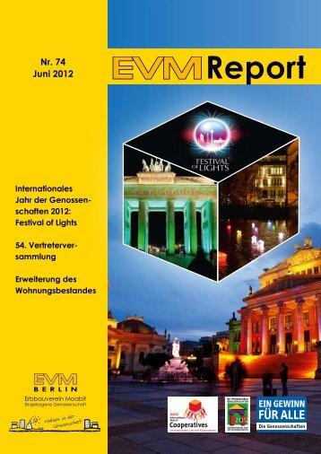 Report - EVM Berlin eG