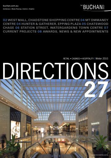 02 WEST MALL, CHADSTONE SHOPPING ... - Buchan Group