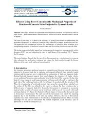 Effect of Using Ferro-Cement on the Mechanical Properties of ...