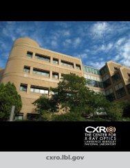 CXRO Intro Booklet - The Center for X-ray Optics - Lawrence ...
