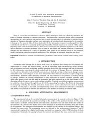 A study of surface wave attenuation measurement for ... - GTS (UPV)
