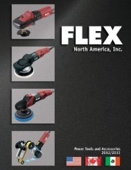 Polishers - Flex North America, Inc.