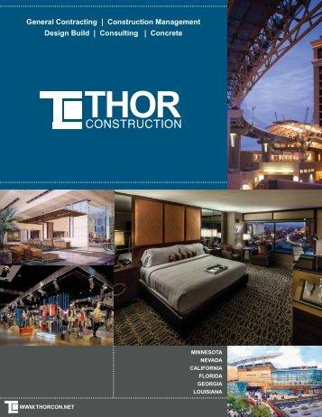 Download THOR Marketing Brochure - THOR Construction Inc