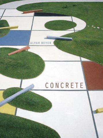 Katalog Concrete - alvar beyer