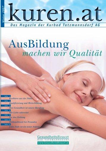 Besinnlicher FesttagsZauber - GesundheitsRessort