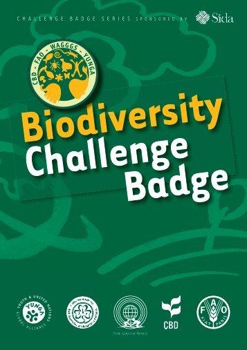 Biodiversity Challenge Badge - Convention on Biological Diversity