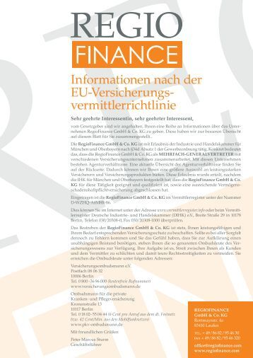 PDF Regiofinance EU-Erstinformation