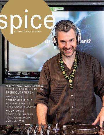 Spice Herbst 2012 (PDF) - SV Group