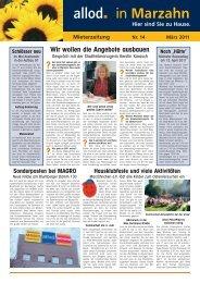 Ausgabe 14 März 2011