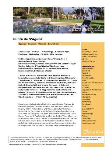 Punta de S'Aguila - Domizile