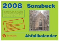 Achtung! - in Sonsbeck
