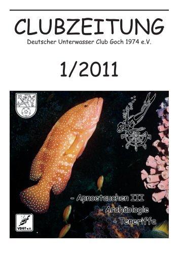 Clubzeitung erste Ausgabe 2011 - DUC-Goch