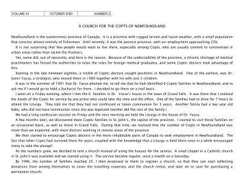 saint maurice and the theban legion - St. Marys Coptic Orthodox ...