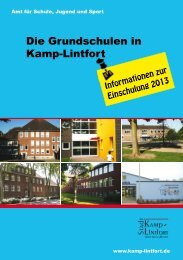 schule - Kamp-Lintfort